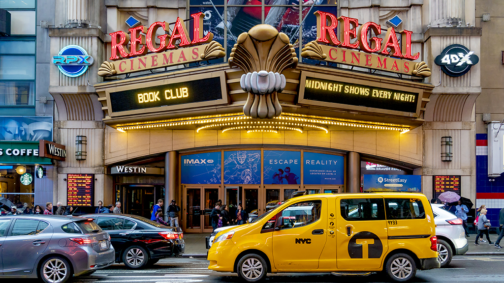 New York City movie theater owner Gregg Scarola says people want to come back to movie theaters, but need good content.