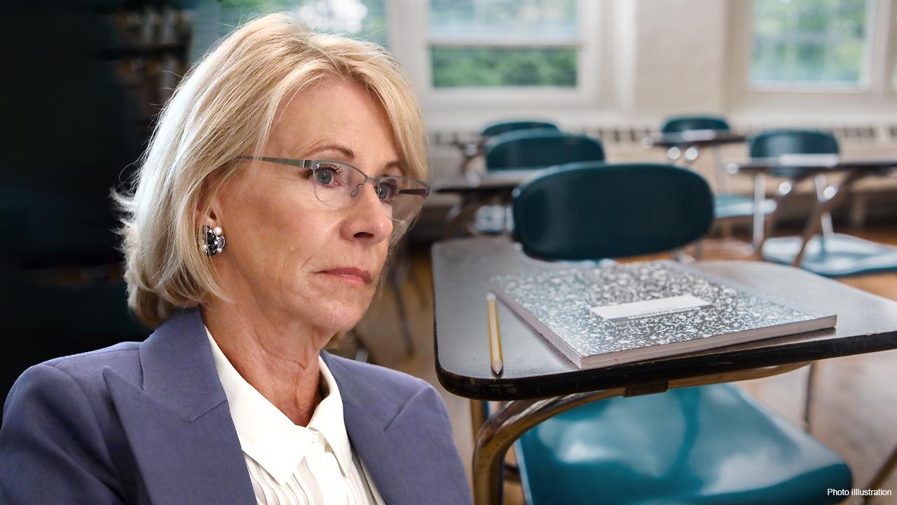 US Education Secretary Betsy DeVos weighs in on the student debt debate and the increase in school closings as coronavirus cases surge.