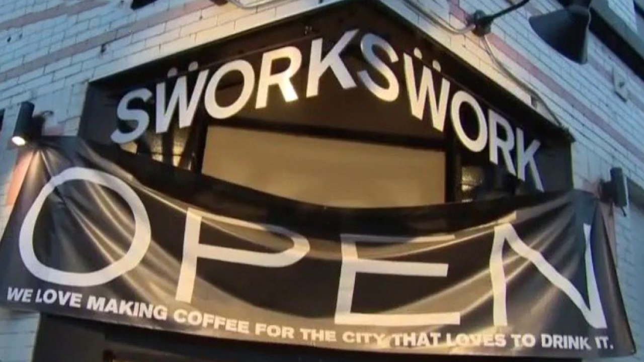 Swork Coffee owner Patricia Neale Vuagniaux on declaring 'peaceful protest' amid heightening coronavirus restrictions in California.