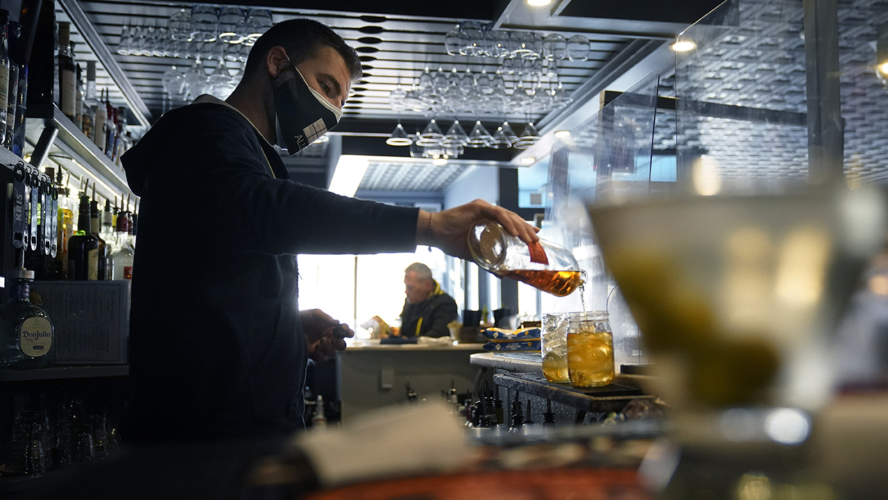 404 Kitchen Executive Chef Matt Bolus blames enhanced unemployment benefits for prolonging the hiring struggles facing the food and beverage industry.