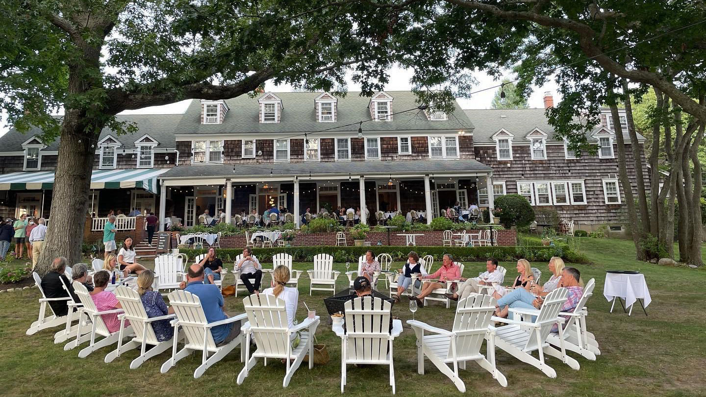 Rams Head Inn owner Aandrea Carter on using the hotel's housing and garden to succeed during COVID.